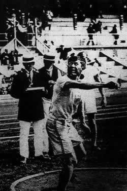 第五届奥林匹克运动会开幕