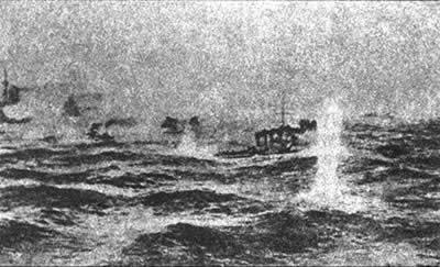 俄太平洋舰队在对马海峡覆没
