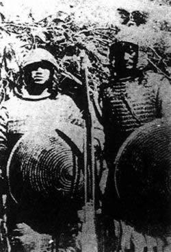 藏兵与入侵英军在江孜激战