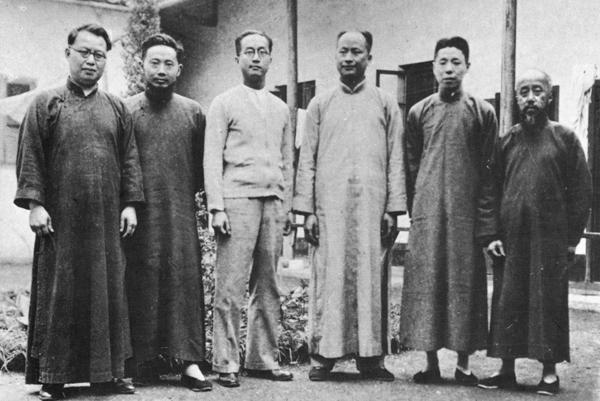 """""""七君子""""被控参与发动西安事变"""