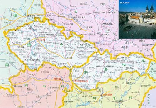捷克和斯洛伐克分裂
