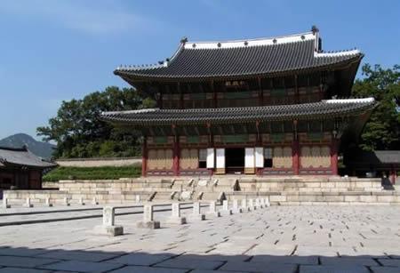 日军占领朝鲜王宫景福宫